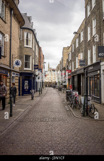 The University city of Cambridge in England - Stock-Bilder