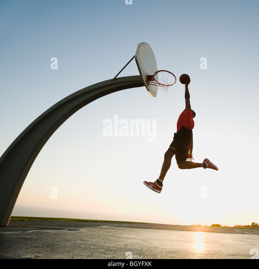 Basketball player - Stock-Bilder