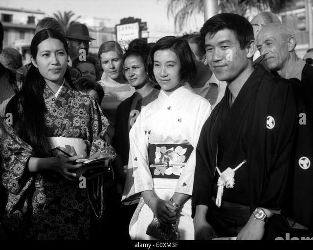 Japanese introduce film at Cannes Film Festival - Stock-Bilder