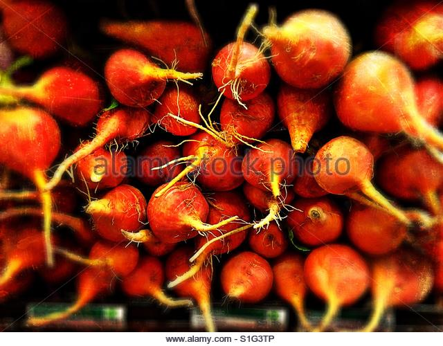 Orange Beets. - Stock-Bilder