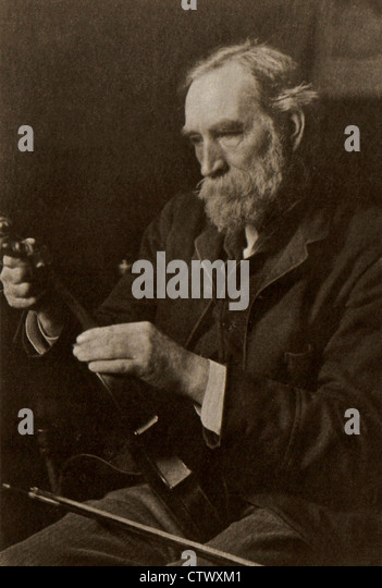 A Victorian Gentleman, William Hayden (1838-1924) a well known Sussex amateur Artist, Musician, Archaeologist and - Stock Image