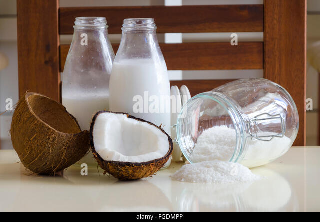 how to cut open a brown coconut