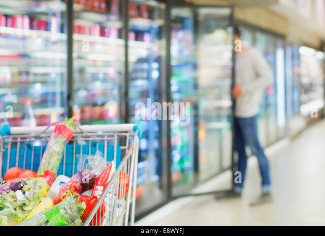 kitchen cabinets oregon supermarket freezer stock photos amp supermarket freezer 3143
