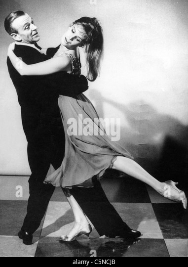 fred astaire, petula clark - Stock Image