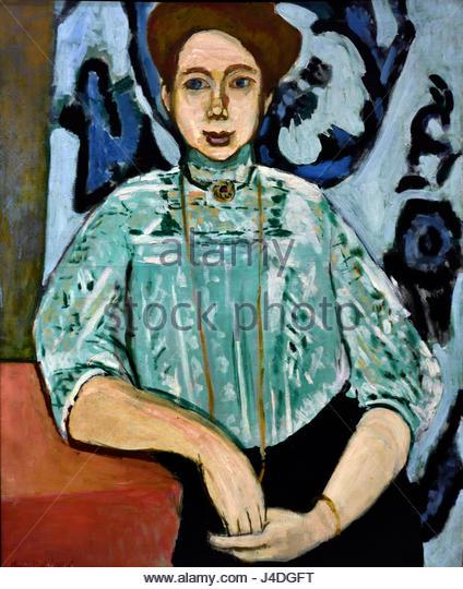 Portrait of Greta Moll 1908 Henri Matisse 1869 – 1954 France French - Stock Image
