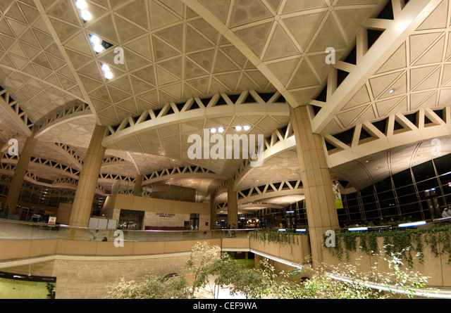 Riyadh Airport in Saudi Arabia, - Stock Image