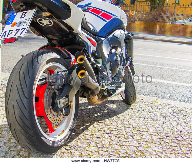motorcycle road germany stock photos motorcycle road. Black Bedroom Furniture Sets. Home Design Ideas