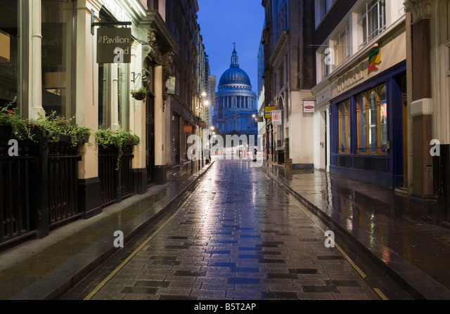 UK London St Pauls Cathedral - Stock Image