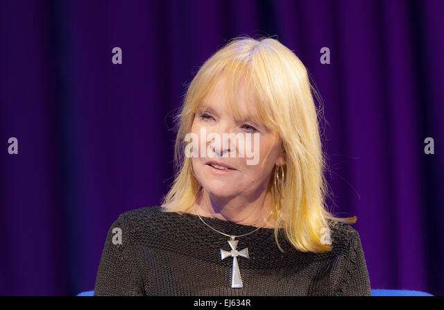 Walsall, West Midlands, UK. 22 March 2015. English Singer Stephanie de Sykes at a recording of 'The David Hamilton - Stock Image