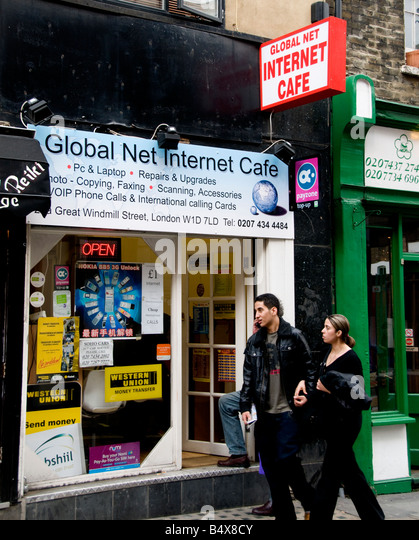 Internet Cafe Near Euston