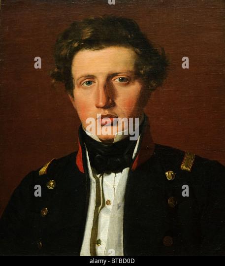 Valdemar Hjartvar Købke (1813?1893), the Artist's Brother, ca. 1838, by Christen Købke - Stock-Bilder