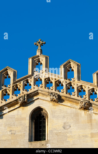 UK, England, Cambridge, Cambridge University, Kings College, Kings College Chapel - Stock-Bilder