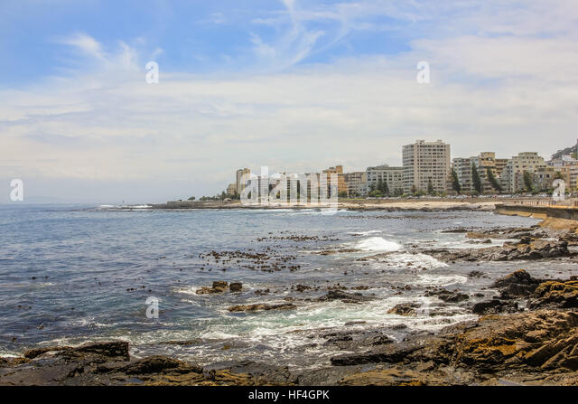 Sea Point Cape Town - Stock Image