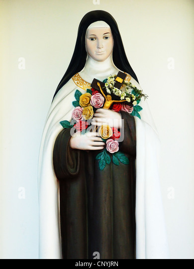 Virgin Mary statue - Stock-Bilder