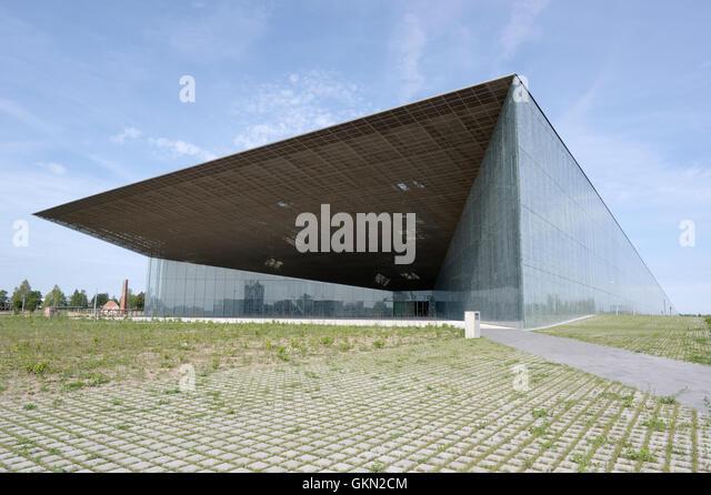 Estonian National Museum main building. 21th august 2016 Tartu. Estonia - Stock Image