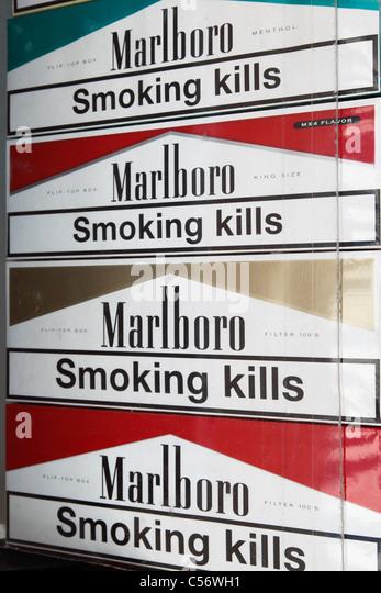 European cigarettes Marlboro Ireland
