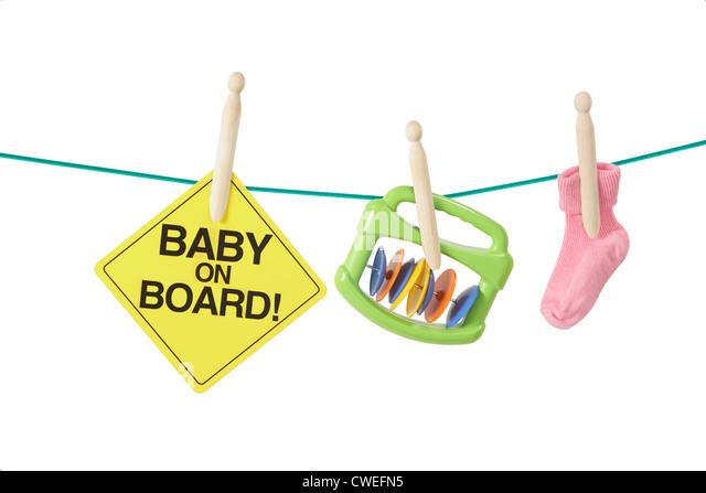 Having baby concept - Stock-Bilder