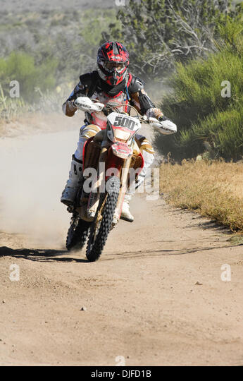 Jun 05, 2010 - Ensenada, Baja Norte, Mexico - JIM O'NEAL rides to first in Class 50 in the 42nd Tecate SCORE - Stock Image