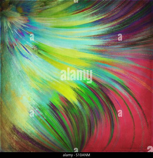 Feathery Abstract - Stock Image
