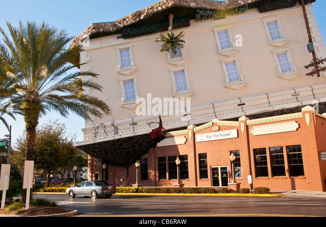 WonderWorks, Orlando, Florida, International Drive - Stock Image
