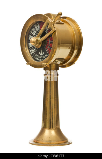 Engine Room Telegraph: Engine Room Telegraph Stock Photos & Engine Room Telegraph