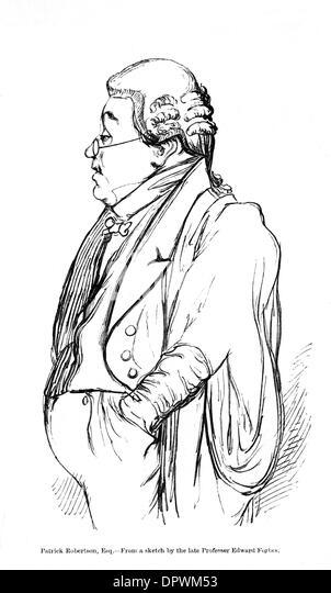PATRICK ROBERTSON - Stock Image