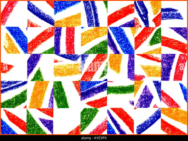 Graphic abstract artwork. - Stock Image
