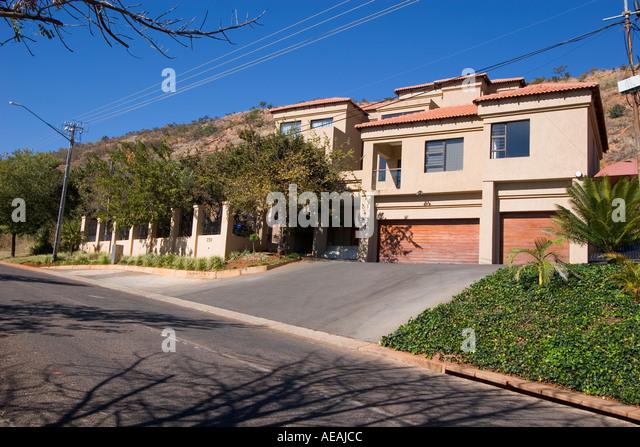 Pretoria city high class housing - Stock Image