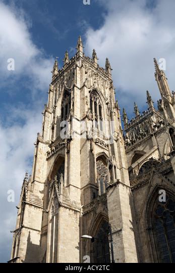 York Minster, England - Stock Image