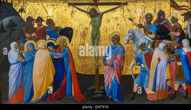 The crucifixion 26/09/2013 - Antiquity Collection - Stock Image