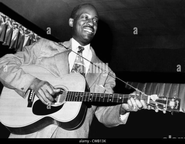 Big Bill Broonzy, ca. 1940s - Stock Image