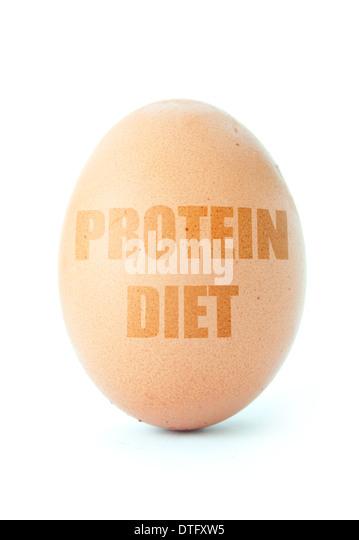 Protein diet - Stock Image