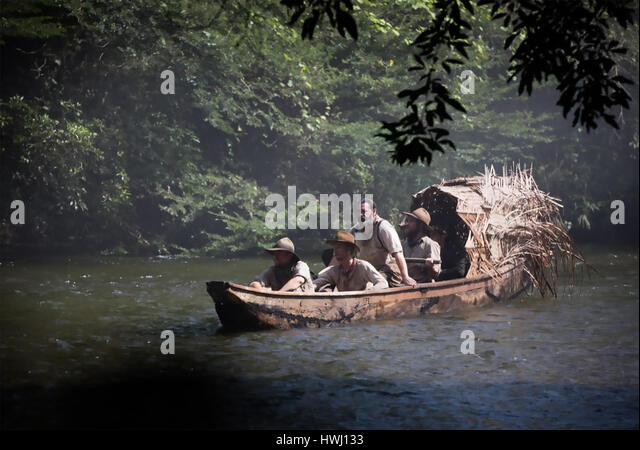 THE LOST CITY OF Z 2016  Amazon Studios film - Stock-Bilder