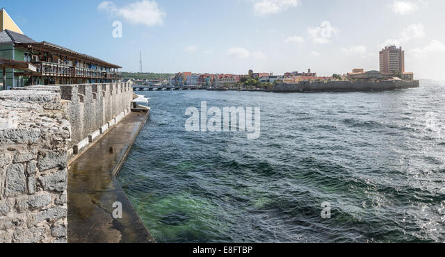 Willemstad City Wall - Stock Image