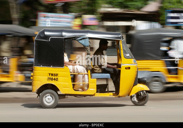 Auto Rickshaw For Rent In Trivandrum: Indian Tuk Tuk Stock Photos & Indian Tuk Tuk Stock Images
