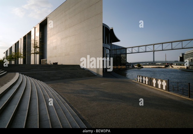 Berlin. Germany. Paul Löbe Haus. - Stock Image