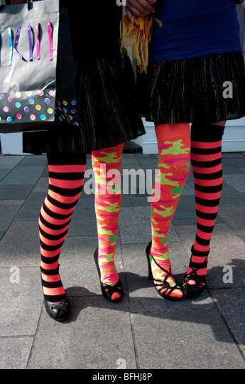 teenagers stockings - Stock-Bilder
