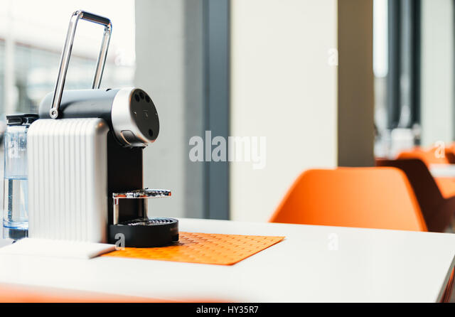 nespresso coffee machine stock photos nespresso coffee. Black Bedroom Furniture Sets. Home Design Ideas
