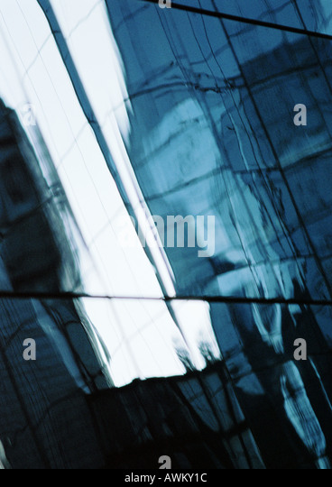 Window panes, close-up - Stock Image