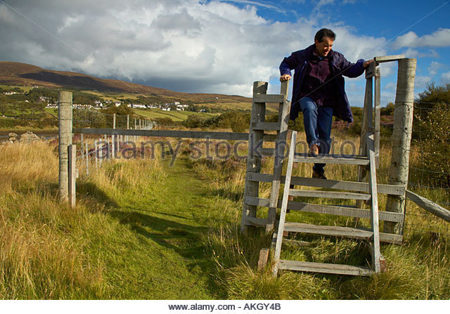 Over A Stile Stock Photos & Over A Stile Stock Images - Alamy