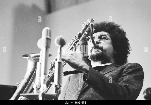 Charles Lloyd performing at the International Jazz Festival at Tallinn, 1967. - Stock Image