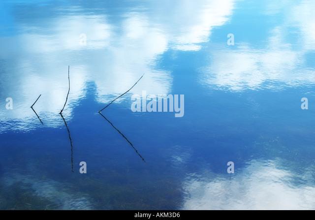 reflection 3 - Stock Image
