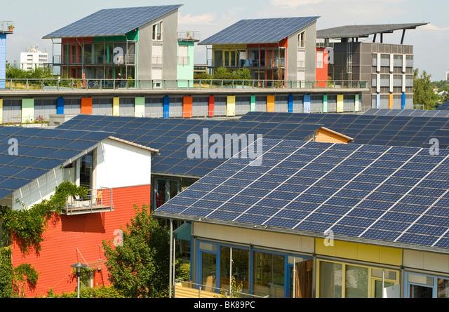 Solar Panels Village Stock Photos Amp Solar Panels Village