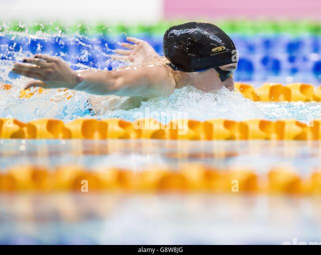 British Swimming Championships - Day Three - Tollcross International Swimming Centre - Stock-Bilder