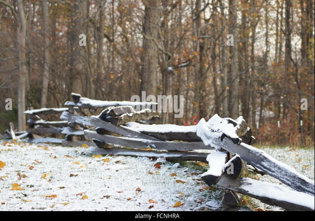 country rail fence winter - photo #34