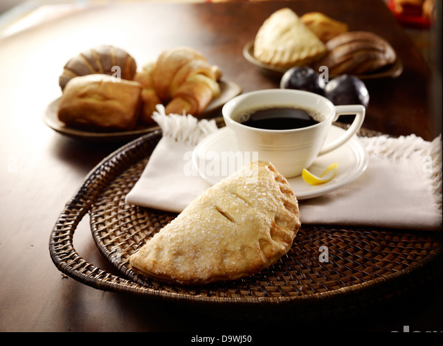 French breakfast - Stock Image