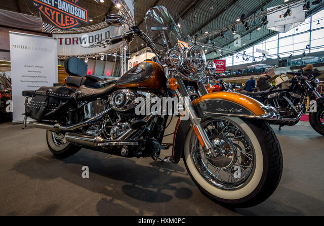 harley davidson heritage softail motorcycle stock photos harley davidson heritage softail. Black Bedroom Furniture Sets. Home Design Ideas