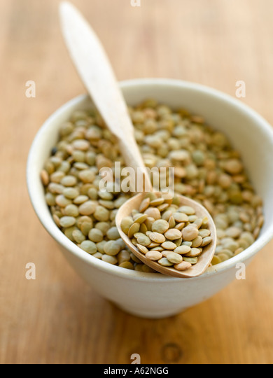 Lentils shot with Hasselblad medium format pro digital camera - Stock Image