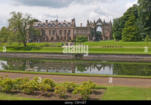 Newstead Abbey & Ruins, Nottinghamshire, England, UK - Stock Image