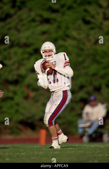 Sport Team Sports Ball Games American Football - Stock Image